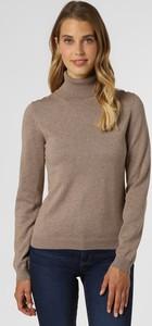Brązowy sweter brookshire w stylu casual