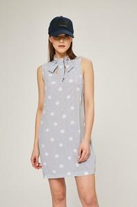 Sukienka Tommy Hilfiger bez rękawów mini koszulowa