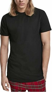 Czarny t-shirt amazon.de z krótkim rękawem
