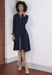 200b4296b4 sukienka typu szmizjerka - stylowo i modnie z Allani