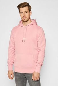 Różowa bluza Tommy Hilfiger z bawełny