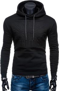 Czarna bluza Edoti w młodzieżowym stylu