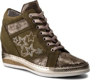 Sneakersy khrio - 181k7114pksq oliva/oliva/bianco