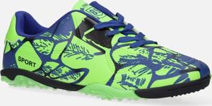 Buty sportowe Casu sznurowane ze skóry ekologicznej