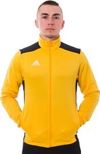 Żółta bluza Adidas z dresówki