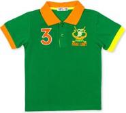 Zielona koszulka dziecięca Ombre Clothing