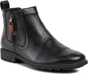 Czarne buty zimowe NIK
