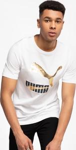 T-shirt Puma z krótkim rękawem z bawełny w sportowym stylu