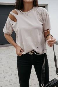 T-shirt VARLESCA z krótkim rękawem w stylu casual