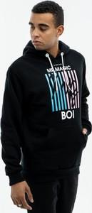Czarna bluza El Polako z nadrukiem