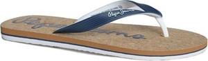 Niebieskie buty letnie męskie Pepe Jeans