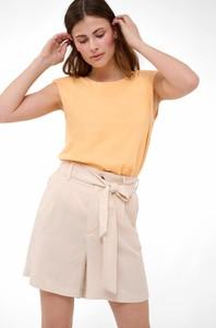 Bluzka ORSAY z krótkim rękawem z dzianiny w stylu casual
