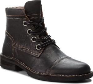 Czarne buty dziecięce zimowe FLY London