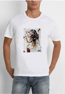 T-shirt Life Is Art w młodzieżowym stylu