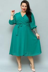 Zielona sukienka KARKO