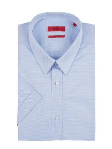 Koszula Hugo Boss z klasycznym kołnierzykiem z krótkim rękawem