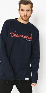 Niebieska bluza Diamond Supply Co.