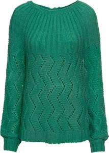 Sweter bonprix BODYFLIRT z dzianiny