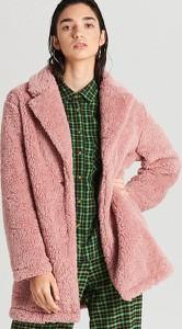 Płaszcz Cropp ze skóry ekologicznej w stylu casual