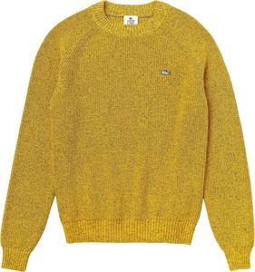 Żółty sweter Lacoste