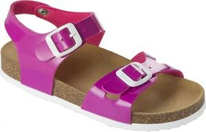 Fioletowe buty dziecięce letnie Scholl
