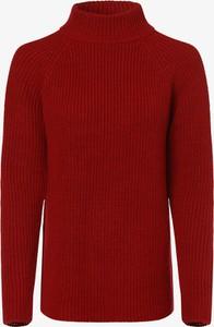 Czerwony sweter comma, z dzianiny