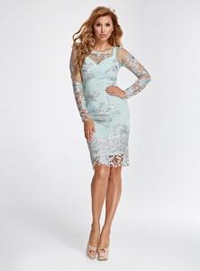 Sukienka Marselini mini z długim rękawem