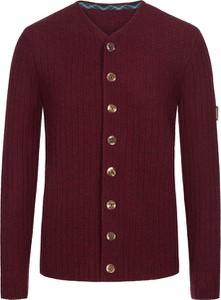 Czerwony sweter Grasegger z wełny