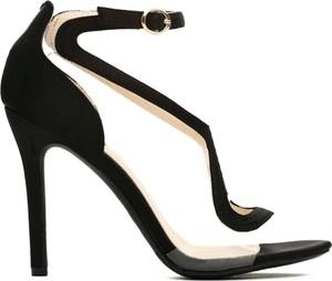 Czarne sandały Vices