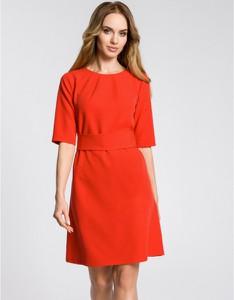 Czerwona sukienka MOE mini