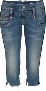 Granatowe jeansy Herrlicher z jeansu
