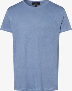 Niebieski t-shirt Nils Sundström