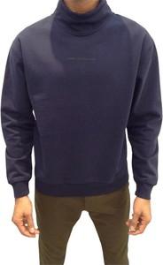 Niebieski sweter Closed z golfem w stylu casual