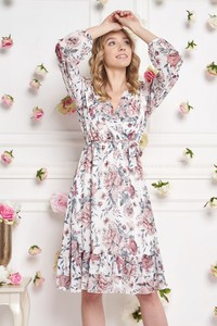 Sukienka Ella Boutique z szyfonu