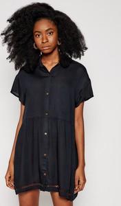 Sukienka Roxy z krótkim rękawem mini