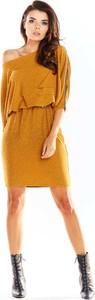 Sukienka Awama w stylu casual oversize mini