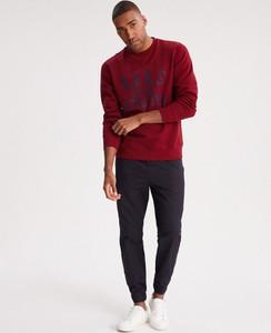 Czerwona bluza Diverse z dzianiny w młodzieżowym stylu