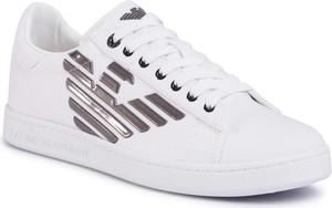 Sneakersy EA7 EMPORIO ARMANI - X8X001 XK124 R550 White/Gunmetal