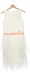 Sukienka Guess bez rękawów z okrągłym dekoltem mini