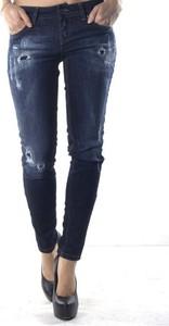 Niebieskie jeansy Sexy Woman z bawełny w stylu casual
