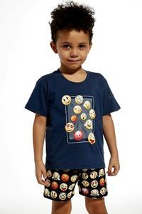 Niebieska piżama Cornette dla chłopców