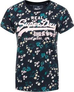 T-shirt Superdry z okrągłym dekoltem w stylu casual