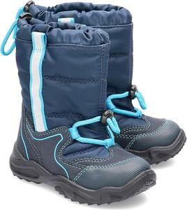 Buty dziecięce zimowe Superfit z zamszu