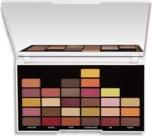 Makeup Revolution, I Heart Revolution, Palette 27, zestaw cieni do powiek, NOW That's I Call Makeup 00s, 27 kolorów