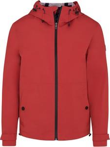 Czerwona kurtka Lavard z tkaniny