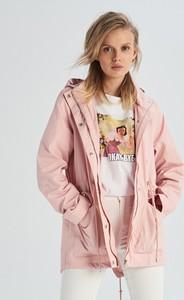 Różowa kurtka Sinsay