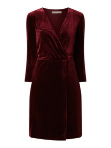 Czerwona sukienka Jake*s Collection mini z długim rękawem