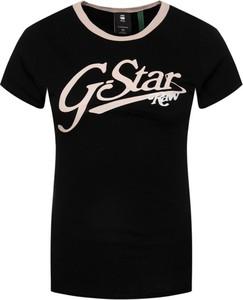 T-shirt G-Star Raw z okrągłym dekoltem w stylu casual
