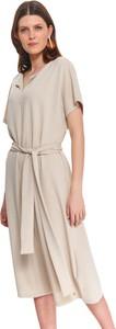 Sukienka Top Secret z krótkim rękawem midi koszulowa