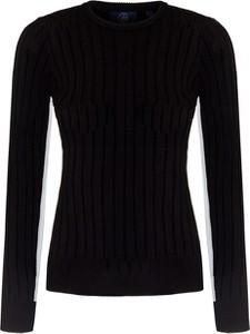 Czarny sweter Fusalp w stylu casual